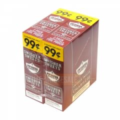 Swisher Sweets Regular Cigarillos 99c Pre-Priced 30 Packs of 2