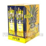 White Owl Cigarillos 1.19 Pre Priced 30 Packs of 2 Cigars Pineapple
