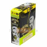 Zig Zag White Grape Cigarillos Pre-Priced (30 Cigars) 15 Packs of 2