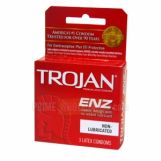 Trojan ENZ Non-Lubricated Condoms 6 Packs of 3