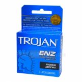 Trojan ENZ Premium Lubricant Condoms 6 Packs of 3