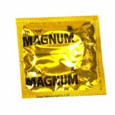 Trojan Magnum Lubricated Condoms Bulk Pack of 25