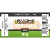 LSmoke E Cig Liquid Apple 12ml Bottle 0.8% of Nicotine