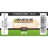 LSmoke E Cig Liquid Apple 12ml Bottle 2.4% of Nicotine