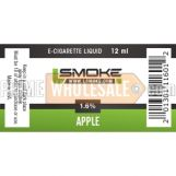 LSmoke E Cig Liquid Apple 30ml Bottle 1.6% of Nicotine