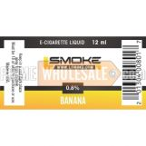 LSmoke E Cig Liquid Banana 12ml Bottle 0.8% of Nicotine