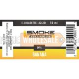 LSmoke E Cig Liquid Banana 12ml Bottle 0% of Nicotine