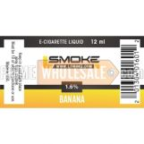 LSmoke E Cig Liquid Banana 12ml Bottle 1.6% of Nicotine