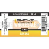 LSmoke E Cig Liquid Banana 12ml Bottle 2.4% of Nicotine
