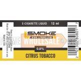 LSmoke E Cig Liquid Citrus 12ml Bottle 0.8% of Nicotine