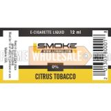 LSmoke E Cig Liquid Citrus 12ml Bottle 0% of Nicotine