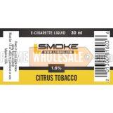 LSmoke E Cig Liquid Citrus 30ml Bottle 1.6% of Nicotine