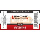 LSmoke E Cig Liquid Watermelon 30ml Bottle 1.6% of Nicotine