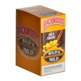 Backwoods Wild & Mild Natural Cigars 8 Packs of 5