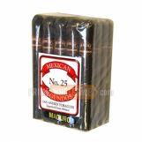 Mexican Segundos No. 25 Maduro Cigars Pack of 20