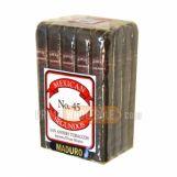 Mexican Segundos No. 45 Maduro Cigars Pack of 20