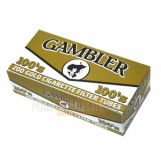 Gambler Filter Tubes 100 mm Gold (Light) 5 Cartons of 200